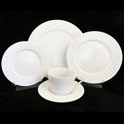 Azores Block Spal 45 Piece Dinnerware Set New Never Used Porcelain Made Portugal