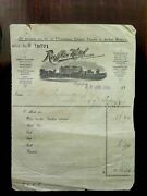 Rare 1930 Sarkies Raffles Hotel Invoice And 4 Raffles Labels And 1 Postcard And Book