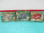 1950-51 Ford Armrest Covers Choice Of Color Red Blue Or Grey Nos 217