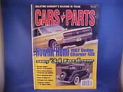 Cars And Parts September 2001--18 Chevrolet 67 Dodge 34 Ford And 34 Pierce-arrow