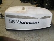 1979 Johnson 55hp Outboard Seahorse Top Cowling
