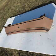1957 58 Ford Fairlane Rear Window Glass Deck Panel Between Trunk W/ Nos Paint