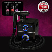 Tanning Essentials Rapid 'black' Spray Tanning System + Free Funkissed Solutions