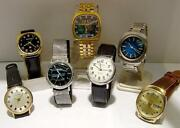 Repair-restoration Service For Bulova Accutron Watches - Free Shipping