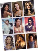 James Bond Autographs And Relics 9 Card Gold Gallery Chase Set Gg39-gg47 - 2013