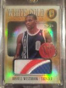 Russell Westbrook 2013-14 Gold Standard Patch 1/1 Okc Thunder One Of One Ucla Sp