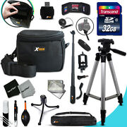 Xtech Accessory Kit For Nikon Coolpix L110 Ultimate W/ 32gb Memory + Case +more