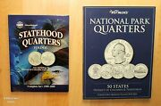 1999 -2021 State And National Park 112 Quarter Uncirculated Complete Set W/folders