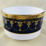 Imperial Cobalt Royal Worcester Open Sugar Bowl 2.5 Tall New Never Used England