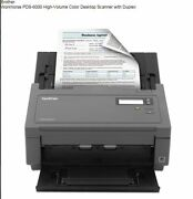 Brother Pds 6000 High Volume Color Document Scanner New In Box Ships Fast