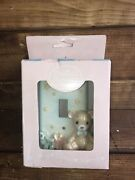 New Sealed Precious Moments Bear Light Switch Single Toggle Cover Plate