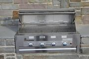 Lazy Man Barbecue - Four Broiler Burners - Built In Grill Propane Model