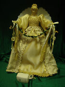 Large Table Top Fiber Optic Angel 18 Inches Tall