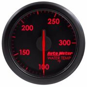 Fits Ford Dodge Chevy Etc Auto Meter Black Airdrive Series Water Temp Gauge..