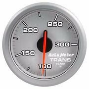 Fits Ford Dodge Chevy Etc Auto Meter Silver Airdrive Series Trans Temp Gauge..
