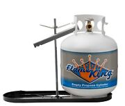 Rv Propane Rack, 20 Lb Cylinder Kit Dual Hold Down With 12 Pigtails And Regulator
