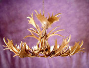 Reproduction Mule Deer And Fallow Antler Chandelier, Rustic Lights, Lamps, Rl22xl
