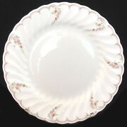 Pink Garland By Wedgwood Bread And Butter Plate 6.75 Made England New Never Used