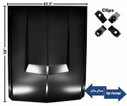Eleanor Style Hood Without Hole With Clips 67 68 Mustang Mshd6768-9