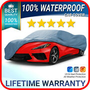 Fits [chevy Corvette] Car Cover ☑️ All Weather ☑️ 100 Waterproof ✔custom✔fit