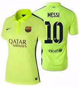Nike Lionel Messi Fc Barcelona Womenand039s Third Jersey 2014/15