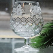 Argyle By Edinburgh Brandy Balloon Large 5 Tall New Never Sold Made In Scotland