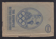 Olympics Esso Envelope With The Olympics Action Collection Logo.