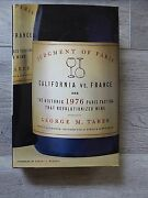 Judgment Of Paris California Vs France - Wine By George M. Taber