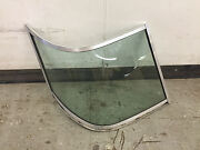 1993 Cobia San Marino 205 Ec Cuddy Right Side Rounded Windshield Glass
