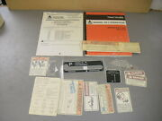 Agco Allis 72510185 Operators Manual And Decals Kit Tractor Models 9670 9690