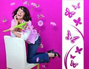 Flying Butterflies Decorative Strip - Highest Quality Wall Decal Stickers