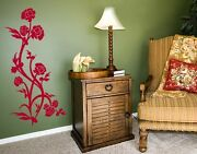 Rose Bush - Highest Quality Wall Decal Stickers