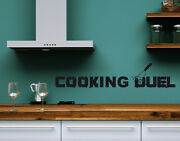Cooking Duel - Highest Quality Wall Decal Sticker