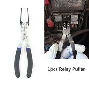 Electrical Relay Puller Fuse Extractor Car Relay Remover Pliers Mechanic Tool 1x