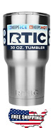 New Rtic 30oz Tumbler Cup Cold Hot Drinks Beverages Shatterproof Travel Mug New