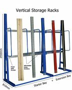 Vertical Storage Racks Racking For Items Up To 3000mm Long - Uk Stock