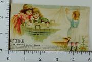 1890and039s Census Large U.s Cities Glycerole Shoe Dressing Children Laundry Line A
