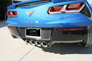 2014-2019 C7 Corvette Stingray - Tag Back Real Carbon Fiber With Stainless