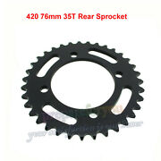 420 76mm 35t Rear Sprocket For Chinese 50-160cc 170 190cc Crf50 Sdg Dirt Pitbike
