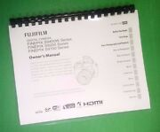 Fujifilm S9100 S9200 S9400w Finepix Camera 143 Page Owners Manual