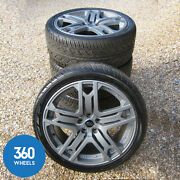 Genuine Kahn Range Rover 22 Rs600 Discovery Sport Vogue Alloy Wheels Tyres L494