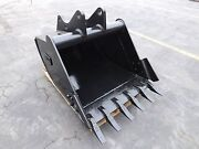 New 36 Backhoe Bucket For A Ford 555e With Coupler Pins