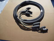Ami Arc Machines 15and039 Adaptor Cable For M9 / M107 207 Power Supply Orbital Weld