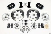 Ford Mustang Ii,pinto,wilwood Dynapro Dust Boot Front Big Brakekit,12.19 Rotor.