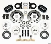 1965-1970 Ford Mustang,wilwood Dynapro Front Big Brake Kit,12.19 Drilled Rotors