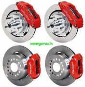 Wilwood Disc Brake Kit,dodge And Plymouth 62-72 B-body,70-72 E-body W/drums,12red