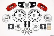 Wilwood Dynapro 6 Front Big Brake Kit Fits 1937-47 Ford Pickup1939-1948 Deluxe