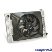 Direct Fit Flex-a-fit Aluminum Radiator And Electric Fan Fits 2010-2011 Camaro