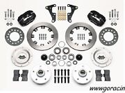 Wilwood Forged Dynalite Front Brake Kit Fits 1941-1956 Packard4 Piston Caliper