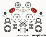 Wilwood Forged Dynalite Pro Series Front Brake Kit Fits 1950-1955 Mg Tdtfred